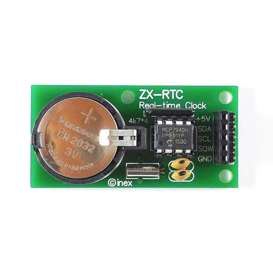 ZX-RTC มินิบอร์ดฐานเวลานาฬิกาจริง