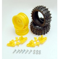 Tamiya Spike Tire Set (1 คู่): 70194