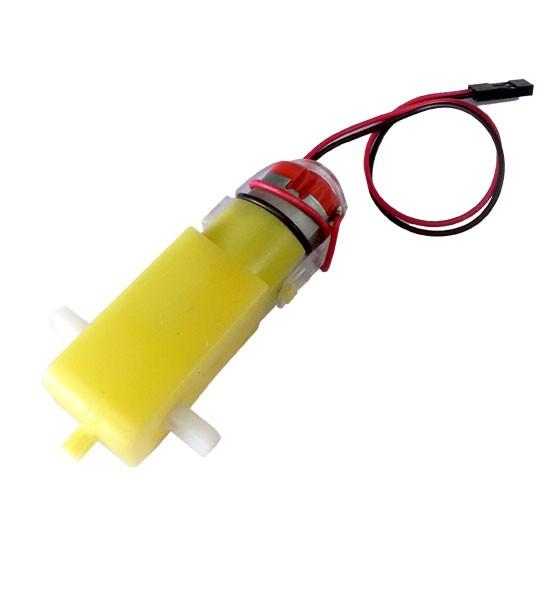 ชุดเฟืองขับมอเตอร์ BO1 (120:1) (2 Output) (สาย IDC)