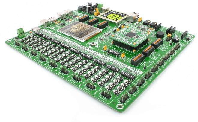 Easy MX pro V7 บอร์ดทดลอง ARM Cortex M3 Stellaris