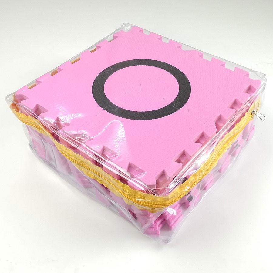 แผ่นสนามหุ่นยนต์ EVA สีชมพู