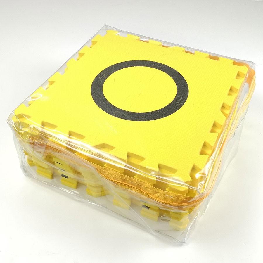 แผ่นสนามหุ่นยนต์ EVA สีเหลือง