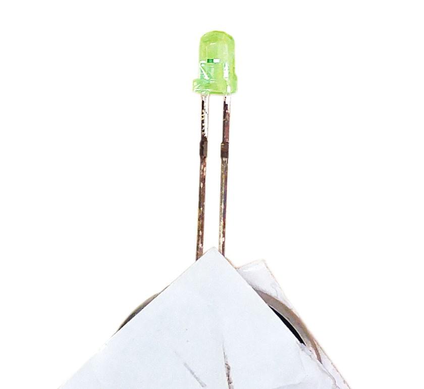 LED Throwies สีเขียว