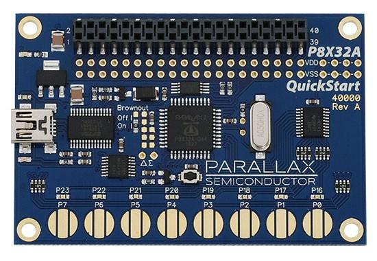 P8X32A QuickStart board