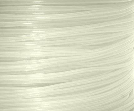 เส้นวัสดุ PLA ม้วน 1 กิโลกรัม สีใส