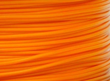 เส้นวัสดุ PLA ม้วน 1 กิโลกรัม สีส้ม