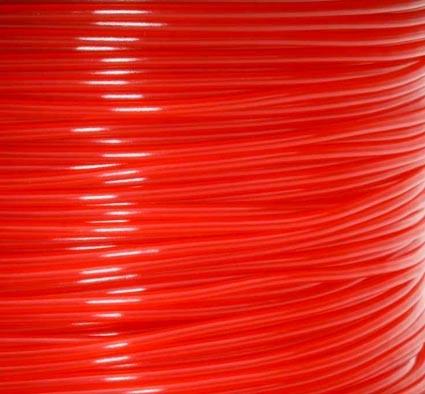 เส้นวัสดุ PLA ม้วน 1 กิโลกรัม สีแดง
