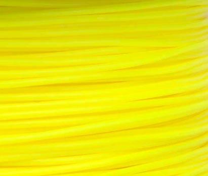 เส้นวัสดุ PLA ม้วน 1 กิโลกรัม สีเหลือง
