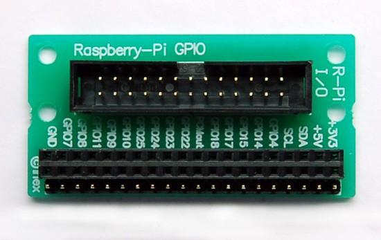 R-Pi I/O มินิบอร์ดสำหรับเชื่อมต่อพอร์ต GPIO ของ บอร์ด Raspberry