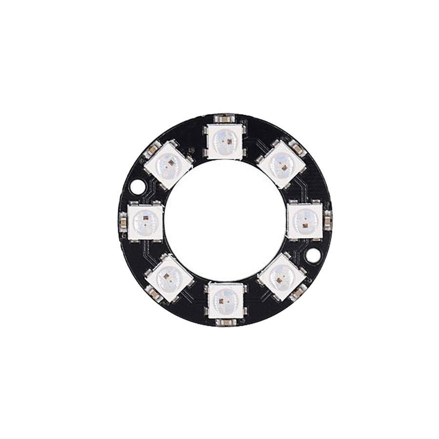 ZX-RGB8R แผงวงจร LED 3 สี RGB แบบโปรแกรมได้ 8 ดวงรูปวงแหวน