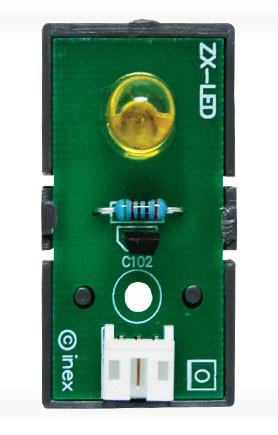 ZX-LED สีเหลือง