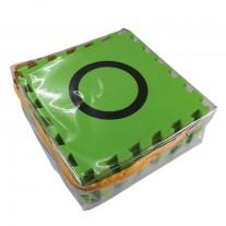 แผ่นสนามหุ่นยนต์ EVA สีเขียว