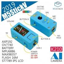 M5stick-V โมดูลกล้องปัญญาประดิษฐ์เพื่องาน AIOT