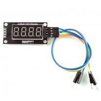 ZX-TM1637 แผงวงจร LED ตัวเลข 7 ส่วน 4 หลัก