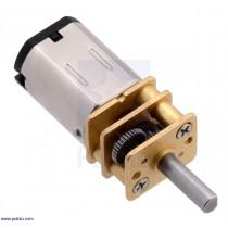 ไมโครมอเตอร์เฟืองโลหะ 10:1 HP-6V (Pololu)