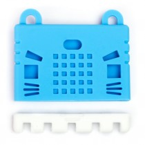 เคสซิลิโคนสำหรับแผงวงจร micro:bit - สีฟ้า