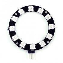 ZX-RGB12R แผงวงจร LED 3 สี RGB แบบโปรแกรมได้ 12 ดวงรูปวงแหวน