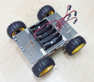 ชุดอุปกรณ์โครงหุ่นยนต์ IOIO-Bot