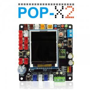 POP-X2 แผงวงจรควบคุมไมโครฯ C/C++