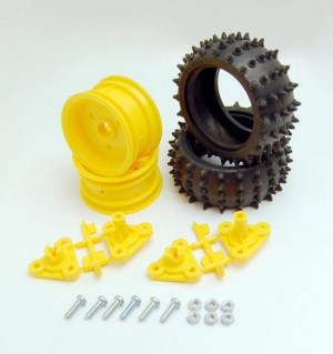 Tamiya Spike Tire Set (1 คู่): 70194
