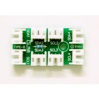 แผงวงจร I2C hub Type-B (ตัวนอน)