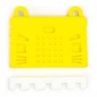 เคสซิลิโคนสำหรับแผงวงจร micro:bit - สีเหลือง