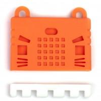 เคสซิลิโคนสำหรับแผงวงจร micro:bit - สีแดง